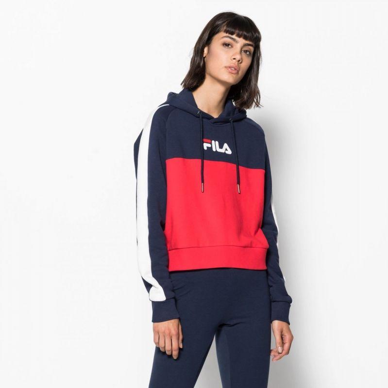 Type Hoodies Fila Wmns Wenda Hooded Sweatshirt