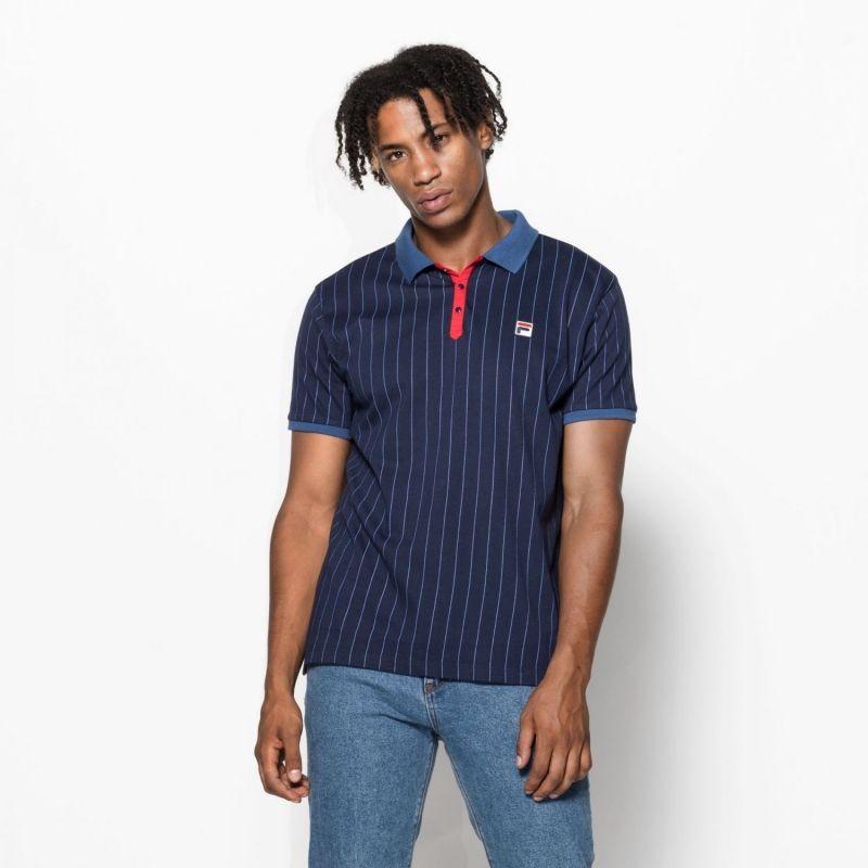 Type Shirts Fila BB1 Classic Vintage Stripes Polo T-Shirt