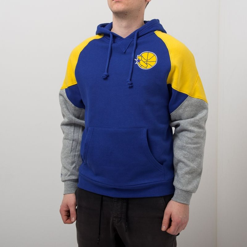 Type Hoodies Mitchell & Ness NBA Golden State Warriors Trading Block Hoodie