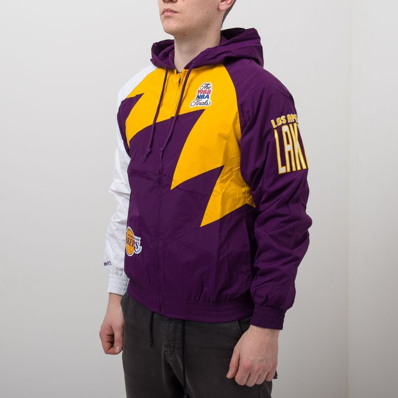 Type Jackets Mitchell & Ness NBA Los Angeles Lakers Shark Tooth Jacket