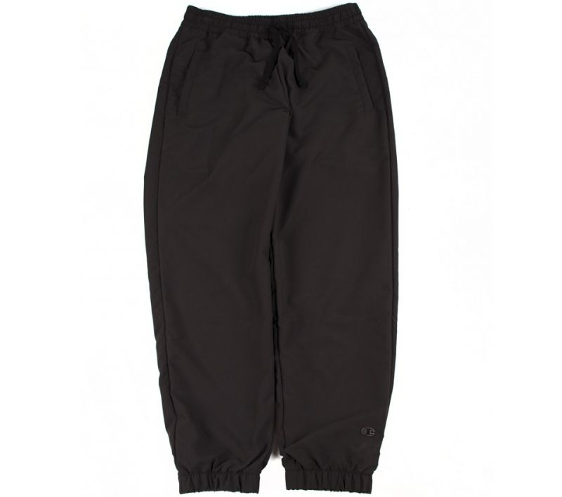 Type Pants Champion Black 'C' Collection Reverse Weave Elastic Cuff Pants