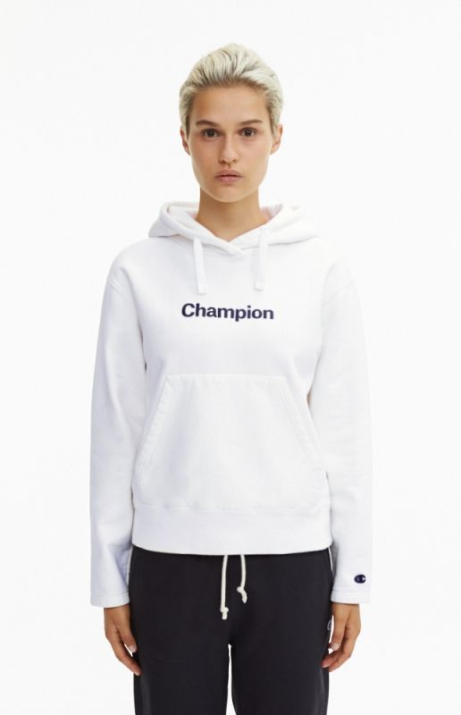 Type Hoodies Champion Wmns Black 'C' Collection Reverse Weave Hoodie