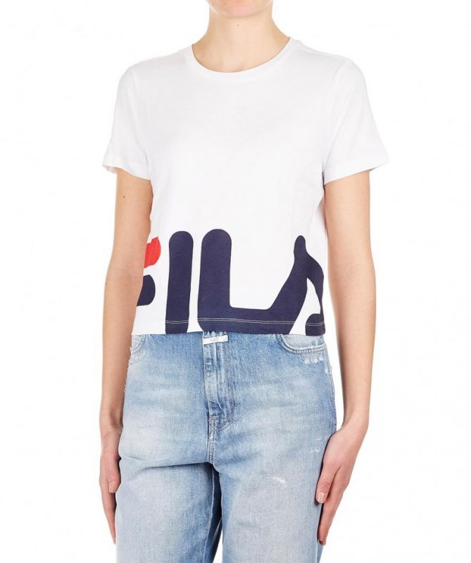 Type Shirts Fila Wmns Early Cropped Tee