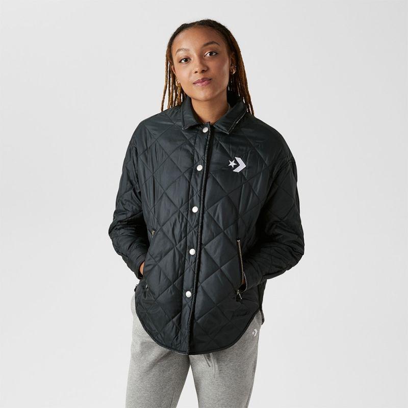 Type Jackets Converse Wmns Reversible Shirt Jacket