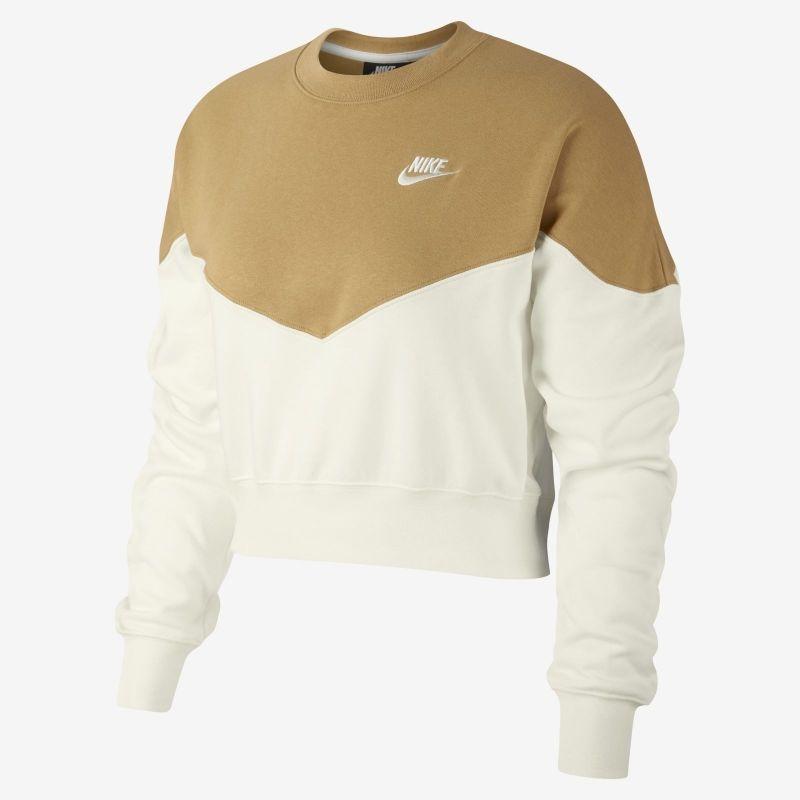 Type Hoodies Nike Wmns Sportswear Heritage Fleece Crew