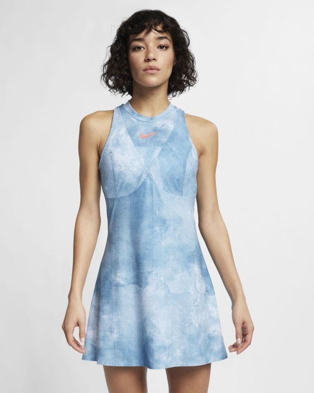 Type Skirts / Dresses Nike Wmns Court Dri-FIT Maria Printed Dress