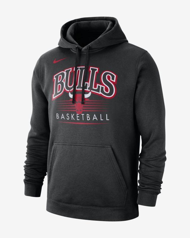 Type Hoodies Nike NBA Chicago Bulls Hoodie