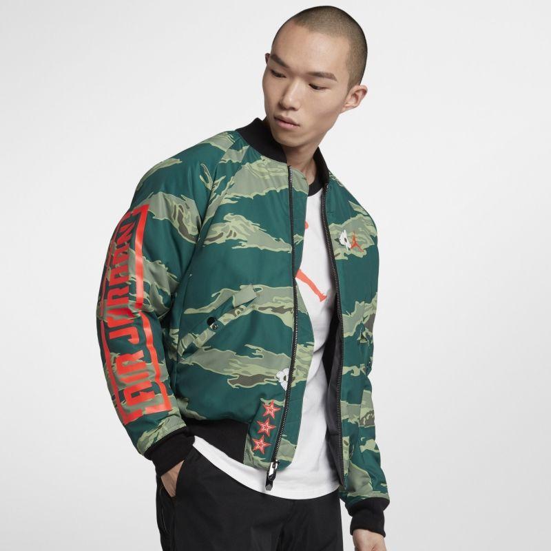 Type Jackets Jordan Graphic Bomber Jacket