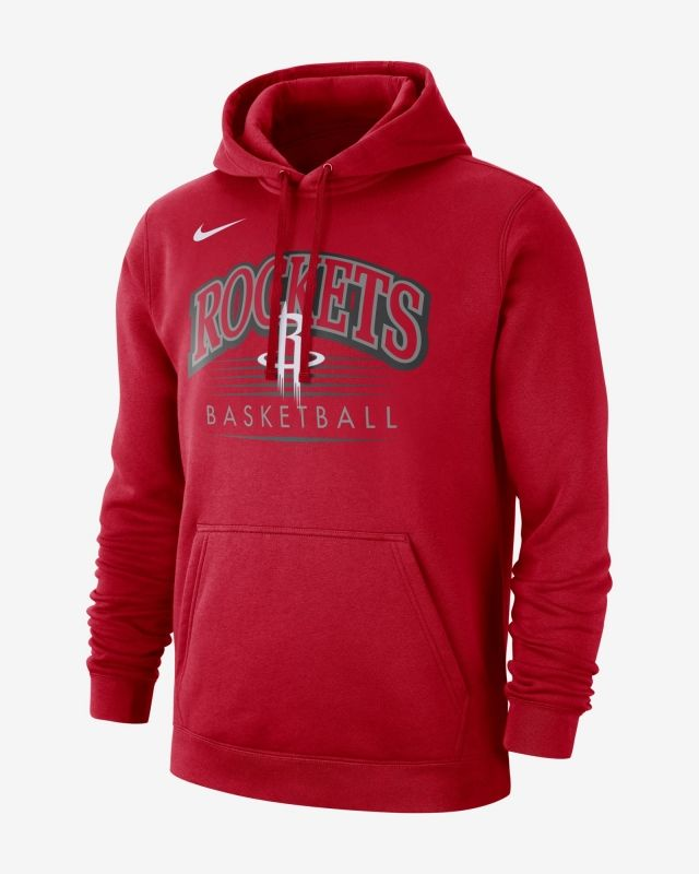 Type Hoodies Nike NBA Houston Rockets Hoodie