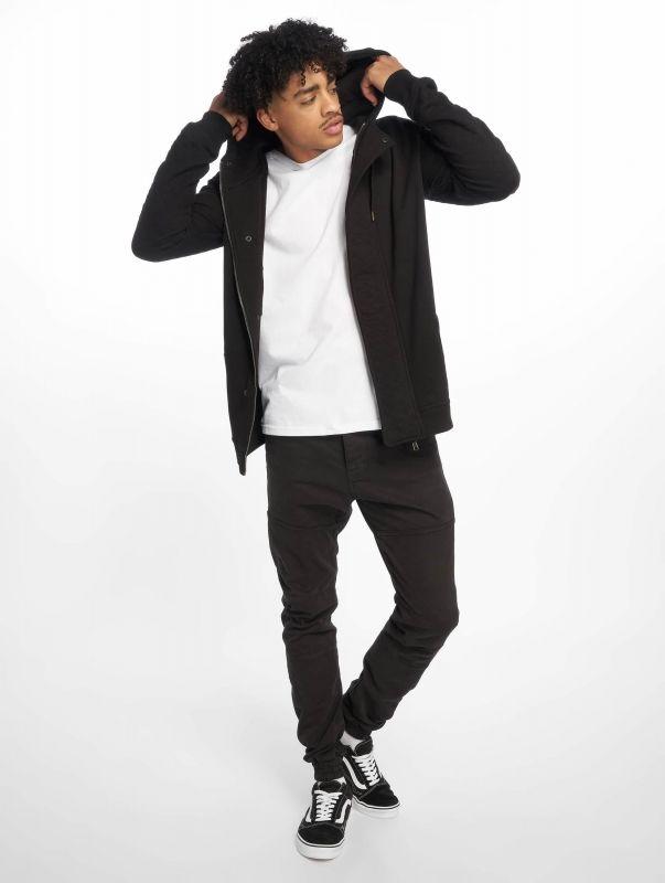 Мъжки суичър Just Rhyse / Zip Hoodie Step in black