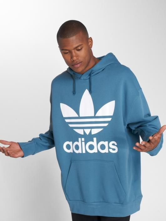 official on feet at top-rated real Type Hoodies adidas Originals Oversize Trefoil Hoodie