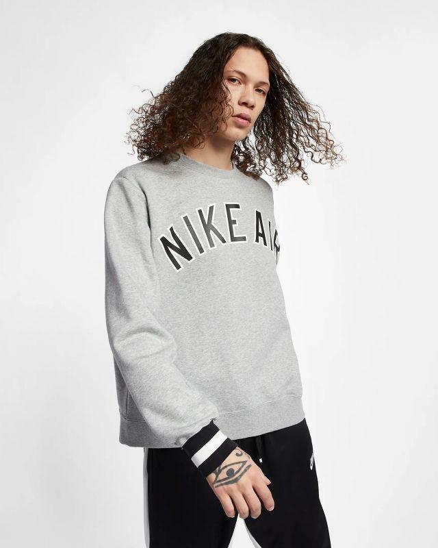 Type Hoodies Nike Air Fleece Crew Sweatshirt