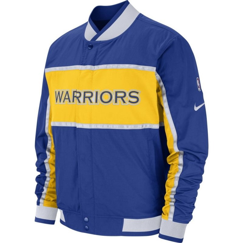 Type Jackets Nike NBA Golden State Warriors Courtside Jacket