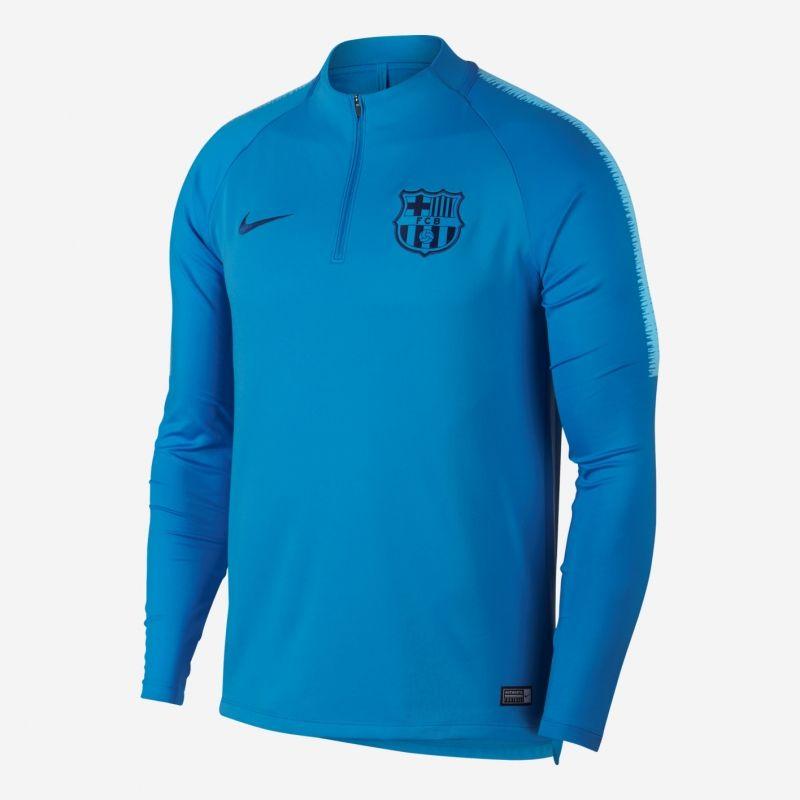 Type Hoodies Nike FC Barcelona Dri-FIT Squad Drill Long Sleeve Soccer Top