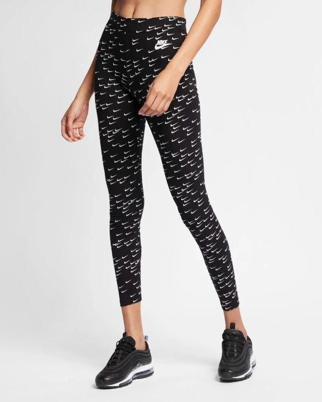 Type Pants Nike Wmns Sportswear Leg-A-See Swoosh Printed Leggings