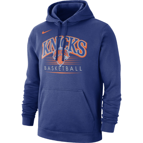 Type Hoodies Nike NBA New York Knicks Hoodie