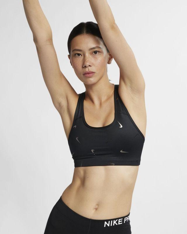 Type Bra Nike Wmns Swoosh Medium Support Printed Sports Bra