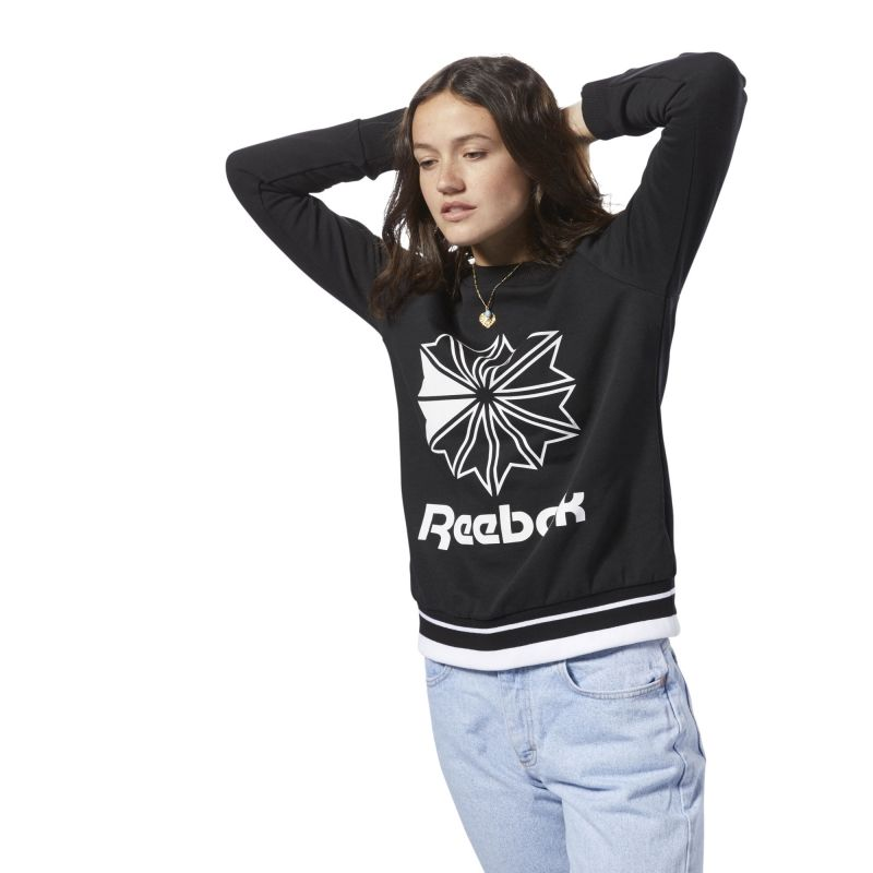 Type Hoodies Reebok Classics Wmns French Terry Crew