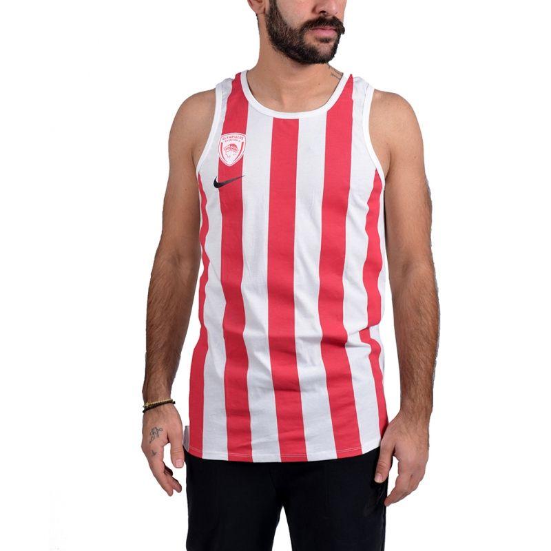 Тениска Nike Olympiacos Piraeus Basketball Tee