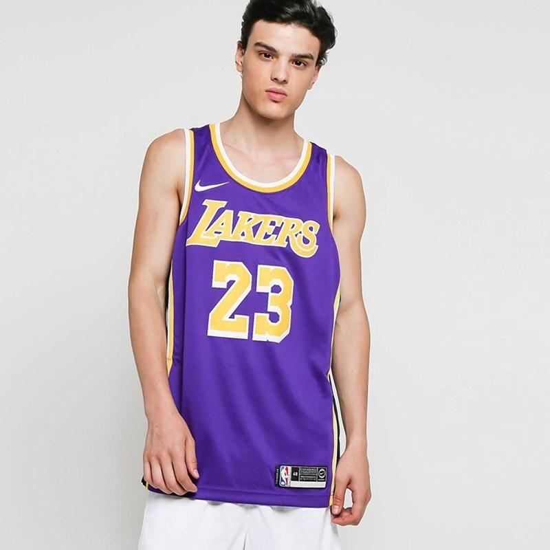 first rate fbece 4f04f Тениска Nike NBA Los Angeles Lakers LeBron James Statement Edition Swingman  Jersey