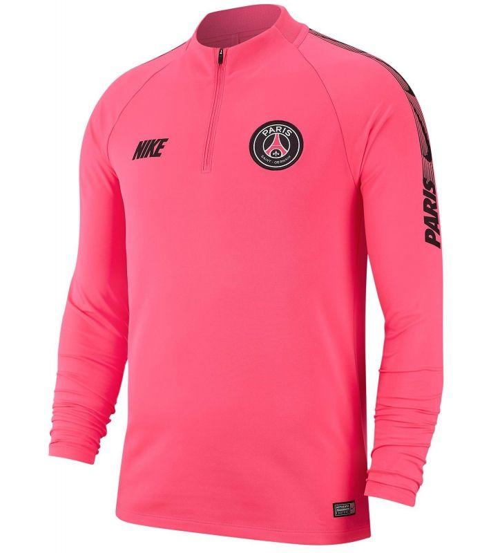 Type Hoodies Nike Paris Saint-Germain FC 2018/19 Dri-FIT Squad Drill Long Sleeve Top