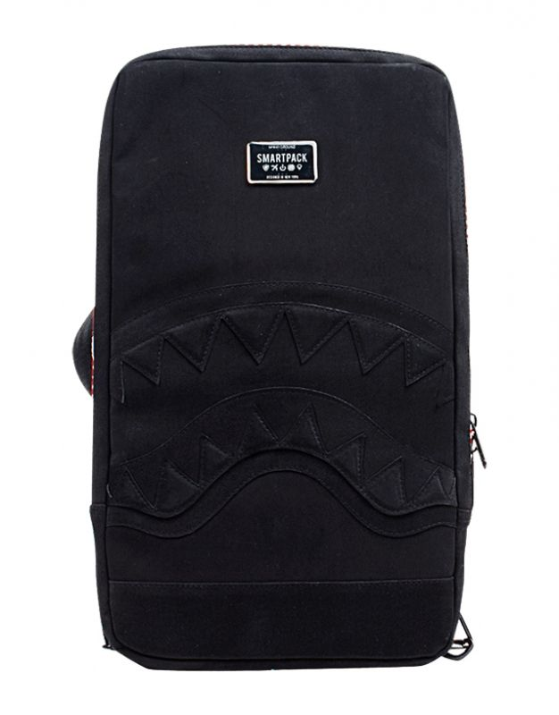 Type Backpacks Sprayground Suede Shark Smartpack Laptop Bag