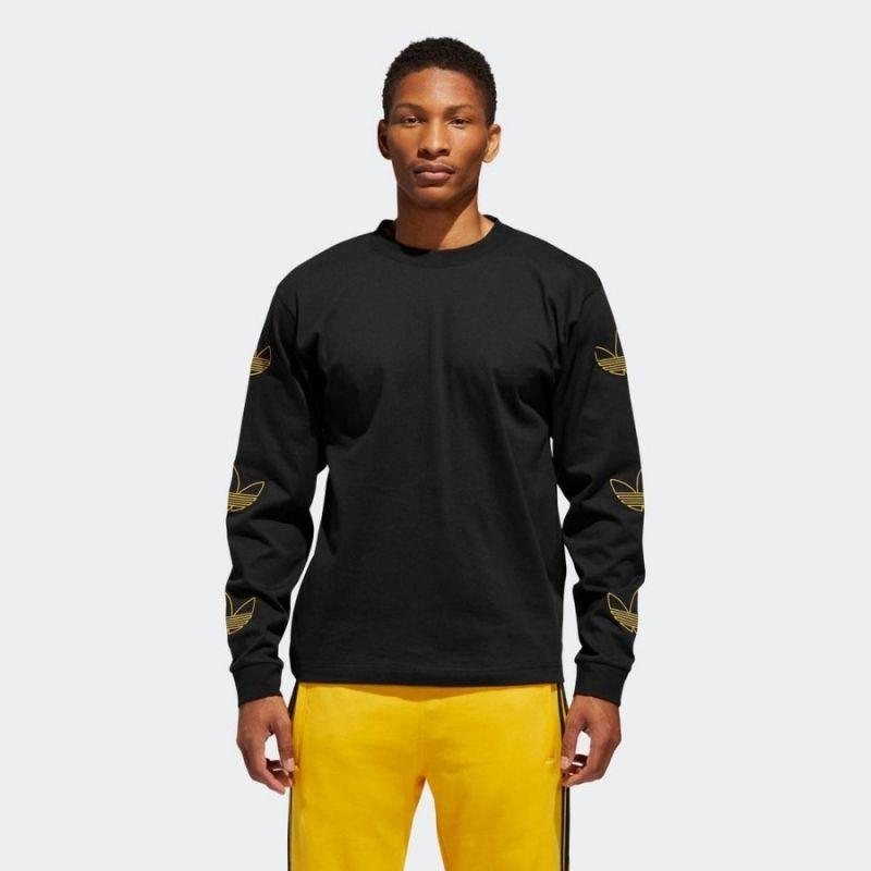 Type Shirts adidas Originals Trefoil Long Sleeve Tee