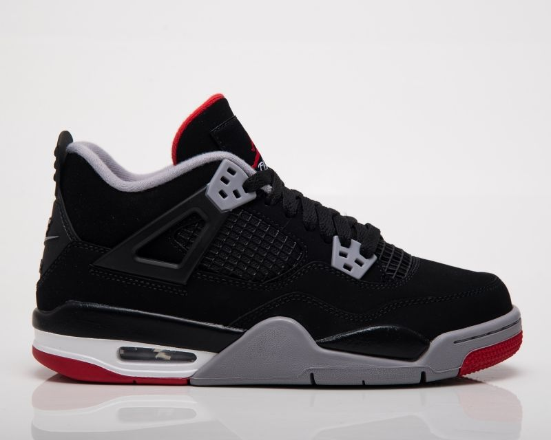 Кецове Air Jordan 4 Retro GS Bred 2019