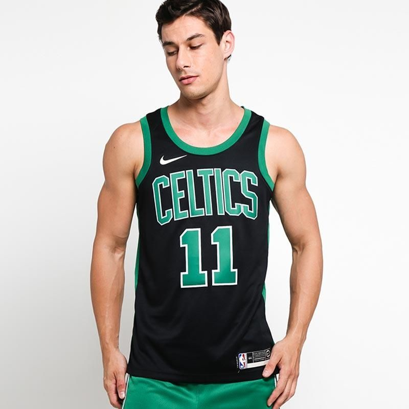 huge discount 1fb81 455cd Type Shirts Nike NBA Boston Celtics Kyrie Irving Icon Edition Swingman  Jersey