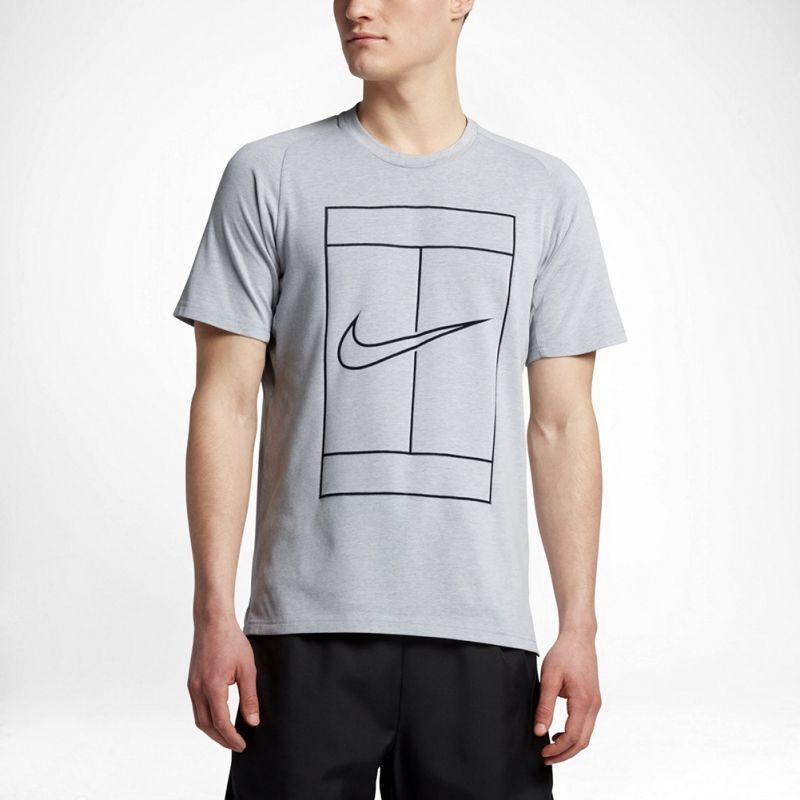 Тениска Nike Court Dry Baseline Rib Tee