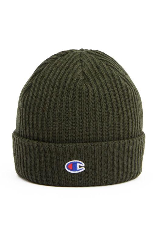 Type Caps Champion Merino Wool Blend C Beanie Hat