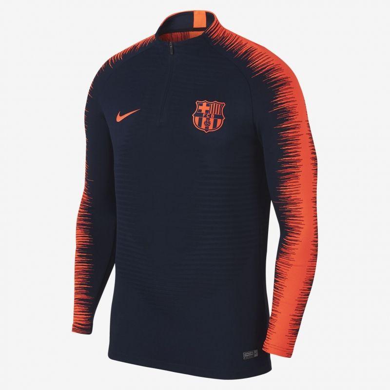 Суичър Nike FC Barcelona VaporKnit Strike Drill Top