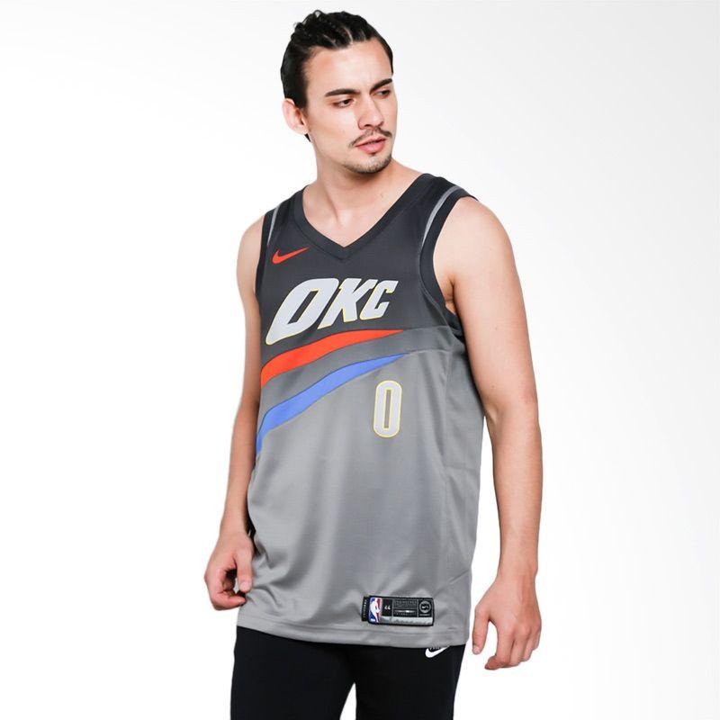 Тениска Nike NBA Oklahoma City Thunder Russell Westbrook City Edition Swingman Jersey