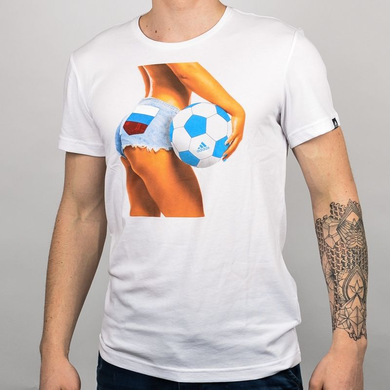 Тениска adidas Russia Summer Fan Tee