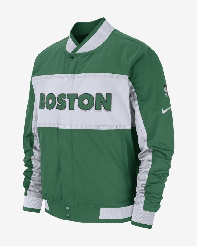 Type Jackets Nike NBA Boston Celtics Courtside Jacket