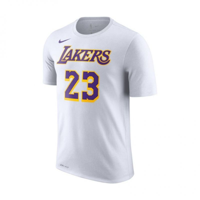 Type Shirts Nike NBA Los Angeles Lakers LeBron James Dri-FIT Tee