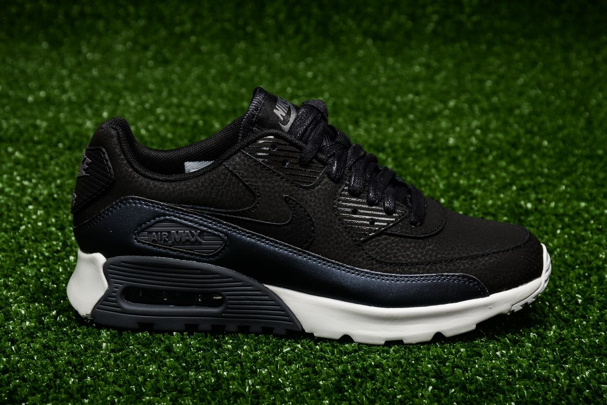 Advanced Design Nike Air Max 90 Ultra SE Premium Black White Men's Running Shoes Trainers DC004485