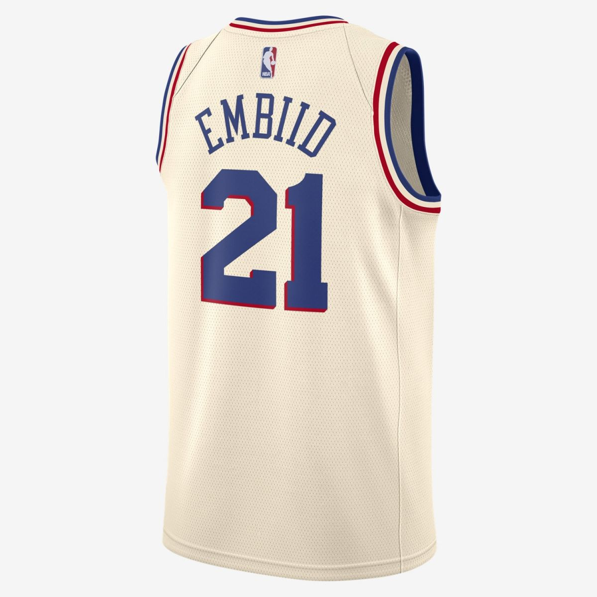 reputable site 239af 5cba6 Type Shirts Nike NBA Philadelphia 76ers Joel Embiid City Edition Swingman  Jersey
