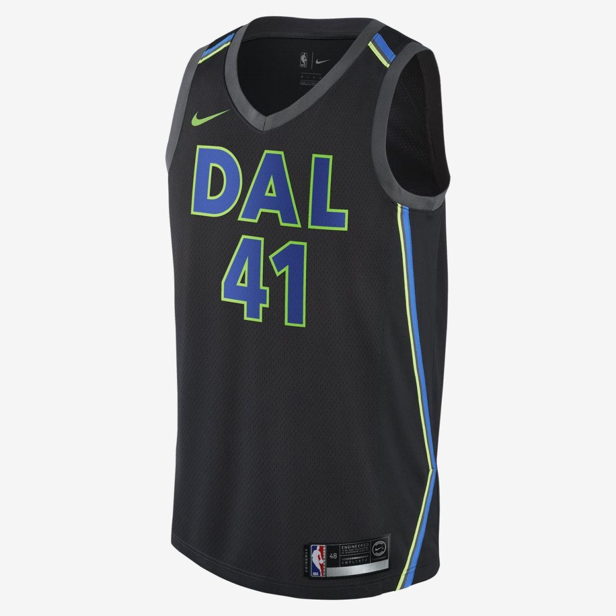 timeless design fbfa8 6c91f Type Shirts Nike NBA Dallas Mavericks Dirk Nowitzki City Edition Swingman  Jersey