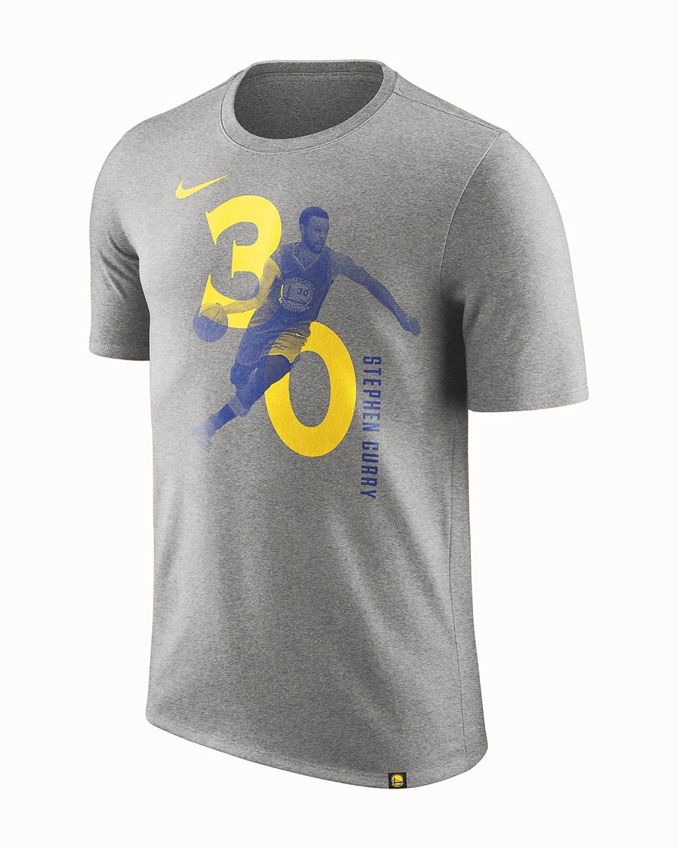 reputable site a14db 444df Type Shirts Nike Golden State Warriors Stephen Curry Dry Tee