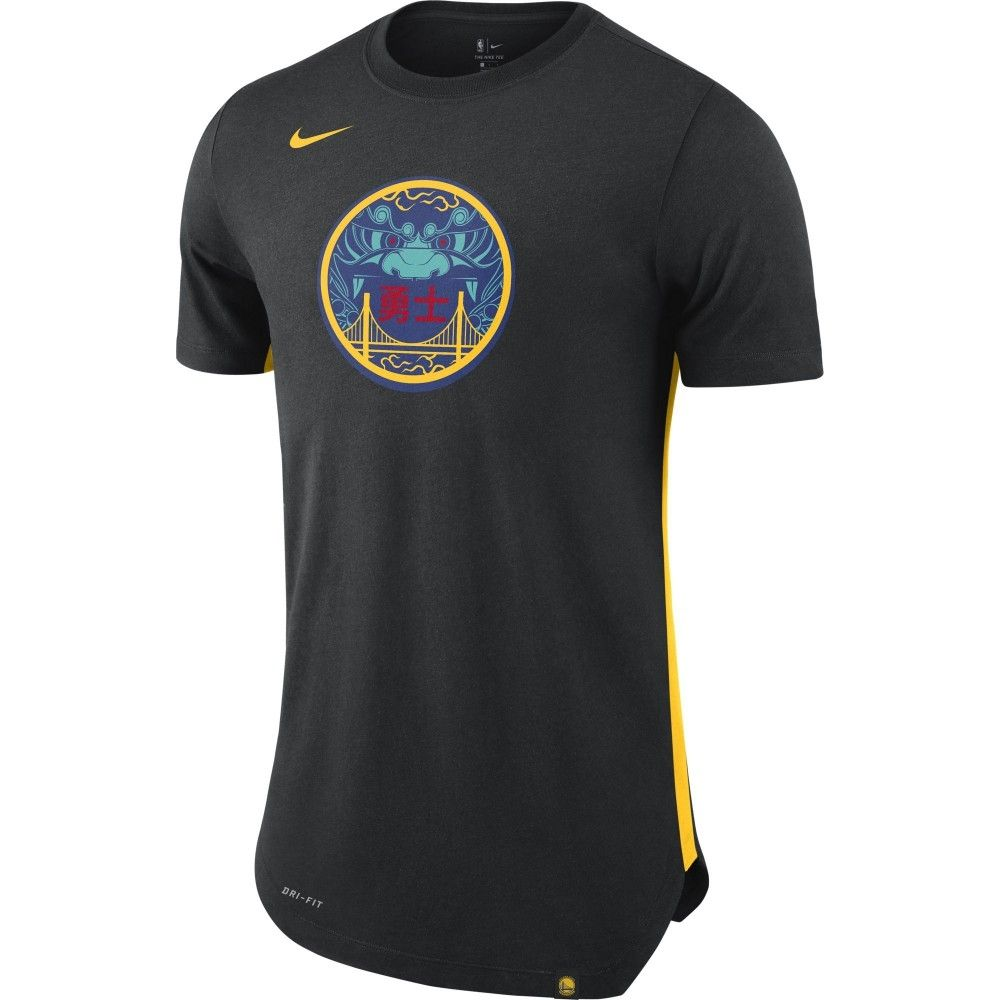 finest selection 647d8 de9d0 Type Shirts Nike NBA Golden State Warriors City Edition Dri-Fit Tee