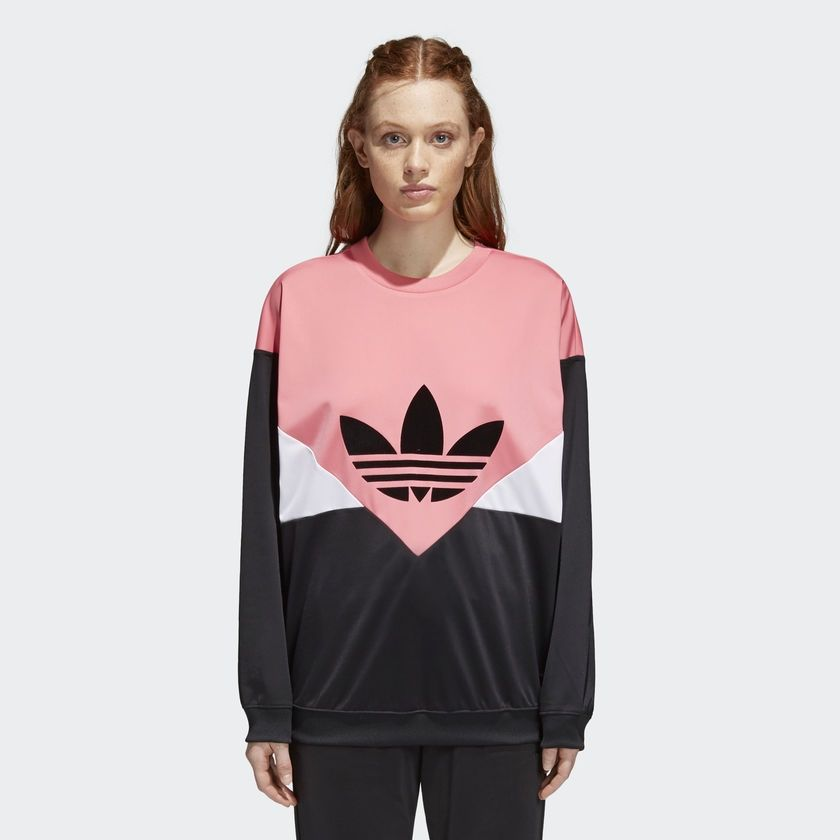 8199e92cf0a0 Type Hoodies adidas Originals Wmns CLRDO Sweatshirt