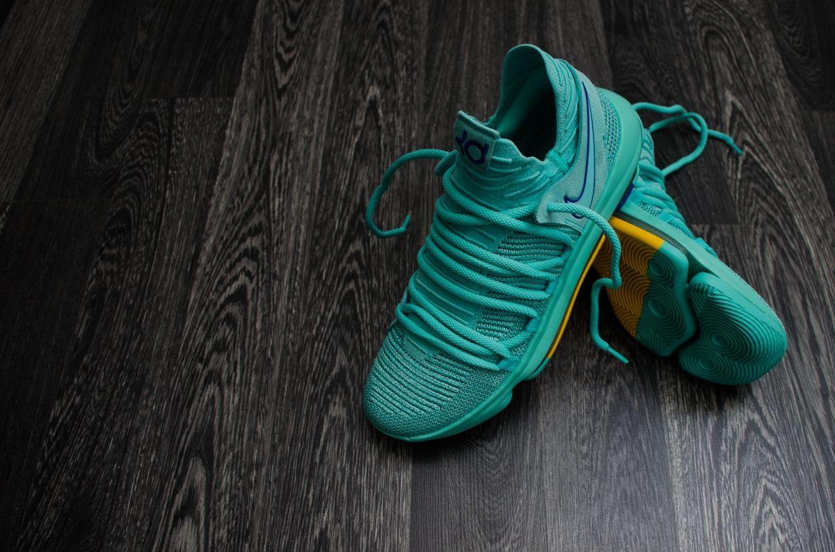 Баскетболни кецове Nike Zoom KD10 City Edition 2 Hyper Turquoise 821bd0875