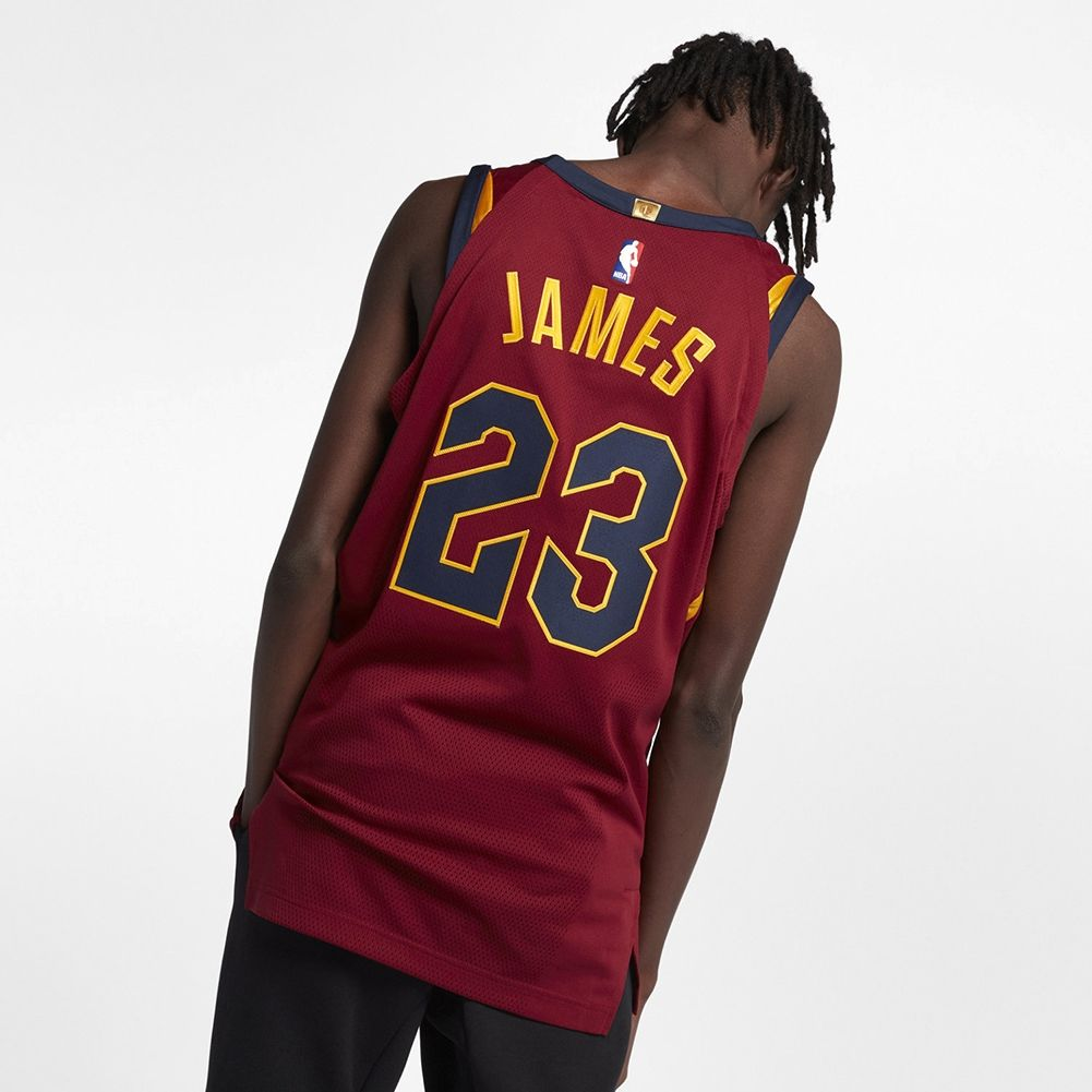 2f40f5445bd6 1001x1001 · Type Shirts Nike NBA Cleveland Cavaliers LeBron James Icon  Edition Authentic Connected Jersey
