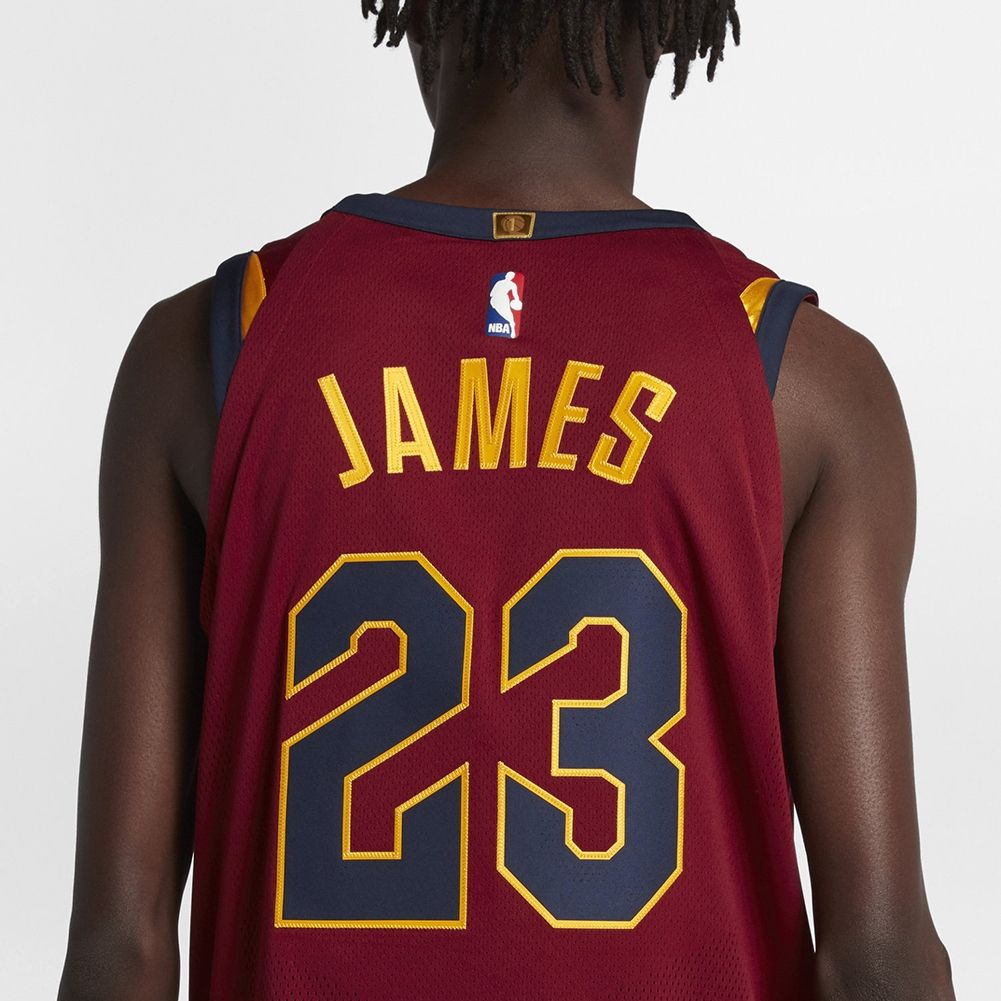 new style a79c8 d45bb Type Shirts Nike NBA Cleveland Cavaliers LeBron James Icon Edition  Authentic Connected Jersey