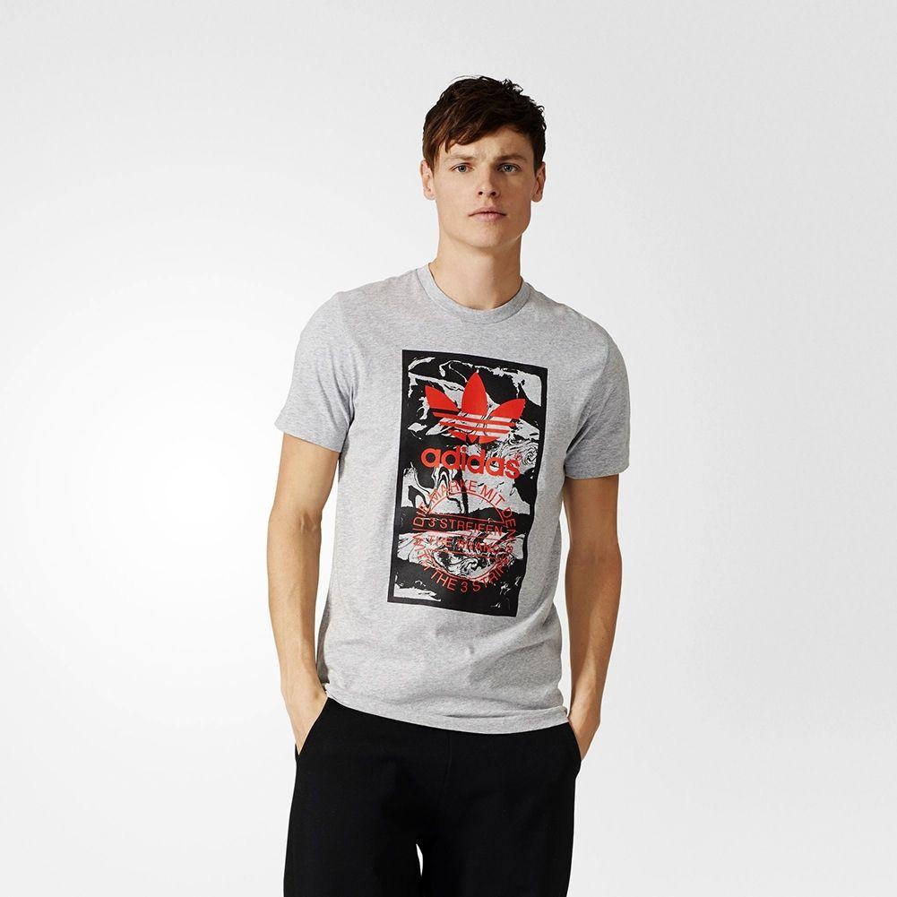 Tee Originals Tongue Adidas Shirts Label Type Marble wqOPUYRx