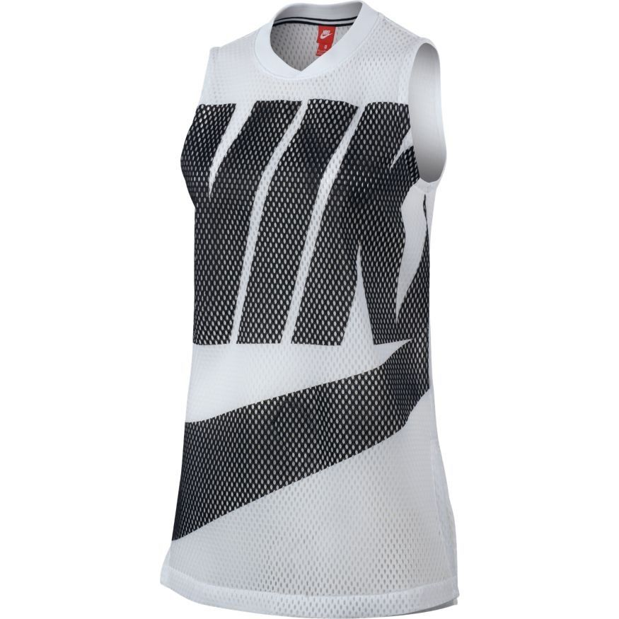 Type Shirts Nike WMNS NSW Mesh Tank Top 911c7632c