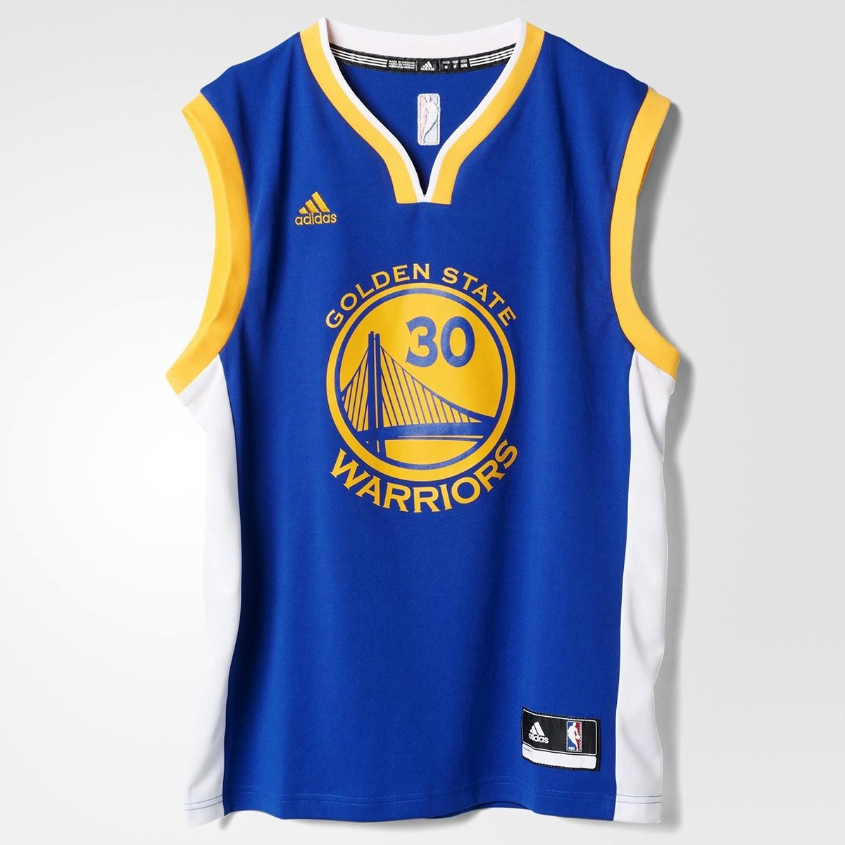 wholesale dealer b5fd9 f90a3 Type Shirts adidas NBA Golden State Warriors Stephen Curry Replica Jersey