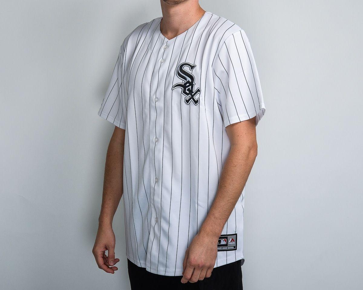 7903999c0 Type Shirts Majestic MLB Chicago White Sox Replica Jersey