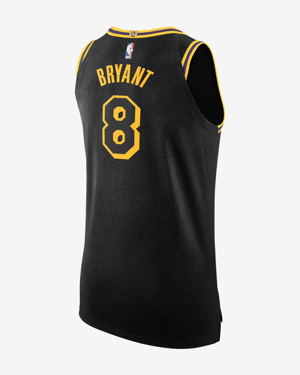 size 40 b75b0 59cff Type Shirts Nike NBA Los Angeles Lakers Kobe Bryant City Edition Authentic  Connected Jersey